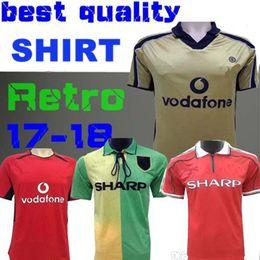 f512f39f4 Retro Version 2001 2002 United Centenary 100 Jersey Soccer jersey 94  v.NISTELROOY football shirt Giggs SCHOLES BEKHAM RONALDO 98 99 VERON discount  retro ...