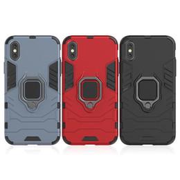 Pantera iphone online-Para iPhone XS Max Funda magnética para teléfono iPhone XR con anillo Soporte para coche Panther Contraportada Estuche de soporte