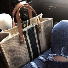 2020 bolsas de lona para mujer Señoras que llevan maletines OL profesional de negocios que conmuta 2019 nuevo bolso de lona grande de la manera simple un hombro bolsas de lona para mujer baratos
