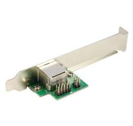 Ethernet express card онлайн-Mini PCI-E до 1000 м Gigabit Ethernet Card MINI PCI Express LAN RJ45 сетевой адаптер NIC один порт