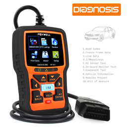 Sensor de código on-line-Scanner automotivo OBD OBD2 Ferramenta de Diagnóstico Auto Leitor de Código de Falha do motor com O2 Sensor Scan Tool Code Scanner