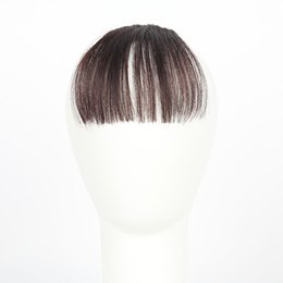 Wholesale clip bangs front - HAICAR Fashion Pretty Girls Clip On Clip In Front Hair Bang Fringe Hair Extension Piece Thin tool X# 1207 fastship