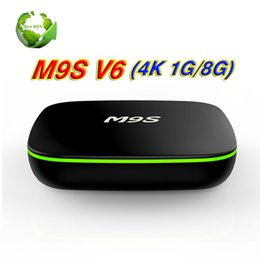 Wholesale Android Factory Settings - Factory Sale M9S V6 New MXQ Pro 4K Smart Android 7.1 TV Box Rockchip RK3229 Quad Core Google Set Top Box Media Player by DHL