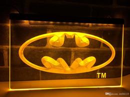 LC001 - Batman Hero Man Cave LED Enseigne lumineuse au néon ? partir de fabricateur