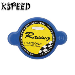 Wholesale Cap Radiator - KSPEED-Racing Car 0.9 Bar Pressure Radiator Cap Cover 9mm  15mm head Size For Universal