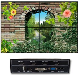 Wholesale Video Wall Displays - DIY 2x2 video wall processor for 4 tv video wall display 4 hdmi output
