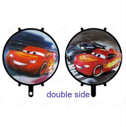 Wholesale Balloon Cars - Mcqueen Car foil balloons 20pcs 18inch car wedding birthday party decorations kids gifts supplies boy toys cars ball Wholesale