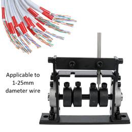 Décolleteuse de câble de ferraille de machine de dépouillement de fil de machine portative manuelle portative pour 1-25mm ? partir de fabricateur
