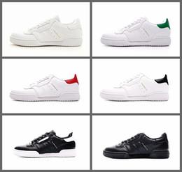 quality design 42004 657d8 2018 nuevos Kanye West Calabasas Powerphase mens entrenadores blanco CQ1693  negro zapatillas de deporte de cuero superior personalizado zapatos ...