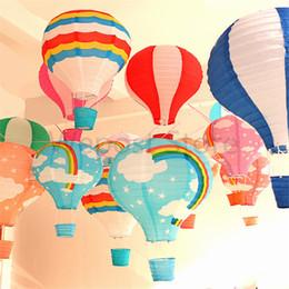 12inch воздушные шары красочные радуги круглый бумажный фонарь дети день рождения свадебные украшения воздушные шары от