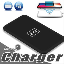 Wholesale Galaxy Standard - MC-02A Qi Standard Universal Wireless Charger Pad Power Bank Portable Transmitter Accessary For Samsung Galaxy S6 S7 Edge Iphone 8 Note 8