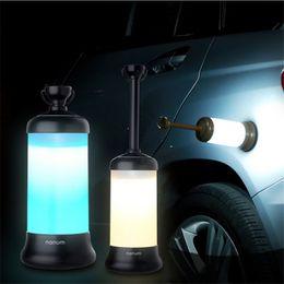 Wholesale multifunctional camp lamp - Car Travel Light Outdoor Camping Tent Multifunctional camping lamp LED Lantern Creative Retractable Emergency light USB warning lighting