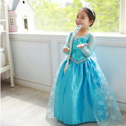 Wholesale Star Baby Dress - High Quality Girl Dresses Princess Children Clothing Birthday Dress Cosplay Costume Kid's Party Dress Baby Toddler Girls Clothes
