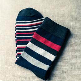 Wholesale Cotton Compression Socks Women - Susnnlpnn Fashion Men Striped Compression Socks USA Teenagers Mens Women Skateboard Socks Cool Cotton Elastic Socks