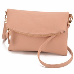 JIARUO Small Leather Crossbody For Women Messenger bag Shoulder bag Handbag  Fold Cover Flap Envelope bags With front Pocket JIARUO Small b404c27147b2e