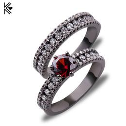 Black Red Wedding Ring Sets Nz Buy New Black Red Wedding Ring Sets