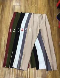 sexy women flat feet Coupons - 2017 new bandage feet nine pants pants female stretch tight nightclub ladies birthday party fashion sexy hip leisure wild zipper