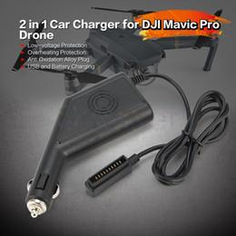 Argentina Cargador de coche 2 en 1 con puerto USB para adaptador de cargador de coche a batería para accesorios DJI Mavic Pro Suministro
