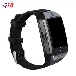 2019 apro smart watch Новый Q18 Passometer смарт-часы с сенсорным экраном камеры TF карты smartwatch для Android / IOS мобильный телефон Apro DZ09 GT08 дешево apro smart watch