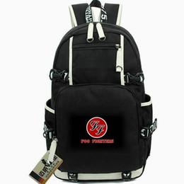 Grandi borse di roccia online-Foo Fighters rucksack St Hits daypack Big me rock band zainetto Musica zaino Computer zaino Sport school bag Fuori porta day pack