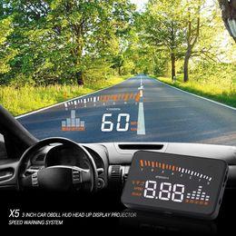 Evrensel Araba Oto Hud Head Up Display Projektör Ile Odb2 Obd ii Arabirim Hız Uyarı Sistemi Kaliteli Araç Hız Alarmı cheap vehicle obd nereden araç obd tedarikçiler