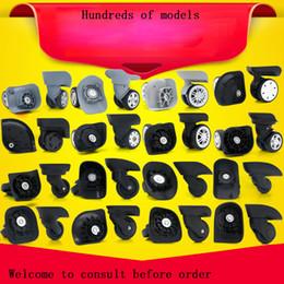 Par de ruedas online-GUGULUZA 1 par de equipaje de reemplazo Maleta Ruedas 360 Rueda giratoria Rueda universal Para la mayoría de los bolsos