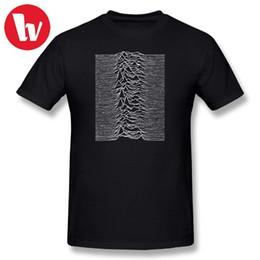 Magliette di gioia online-Joy Division T Shirt Unknown Pleasures - Joy Division Music Tee Shirt Summer Men Magliette Fashion Graphic T-Shirt Funny Tshirt