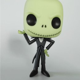 Wholesale Project Games - The Christmas toys pop Animation project Jack Skellington Comics Heroes Action Figures And Games Figures Set Decoration Toy Series