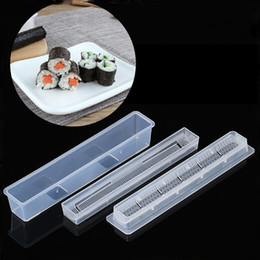 2019 ensembles d'outils maîtres 1 Set petit pain Sushi Master Kit de riz rouleau moule moule pour outils de cuisine promotion ensembles d'outils maîtres