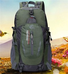 Wholesale Logo Sport Racing - Popular hot style outdoor travel bag leisure Sports backpack 40L special hiking backpack Can print the LOGO