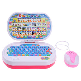Wholesale learning laptop toys - Multi-functional Learning Machine Laptop Game Toy Baby Story Telling English Learning Children Early Educational Toys