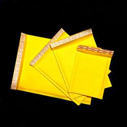 мешок с крафт-мешком Скидка 6 размер 3.54-11.81 inch *5.9-15.74 inch + 4 см Крафт пузырь конверт обернуть мешки мешки упаковка PE пузырь сумки ювелирные изделия упаковка
