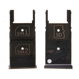2019 suporte de bandeja dupla sim Substituição da bandeja do suporte do slot para cartão dual sim para motorola moto x jogar XT1561 XT1562 XT1563 desconto suporte de bandeja dupla sim