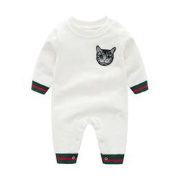 Inverno geral para bebês on-line-Macacão de Bebê de inverno Manga Longa Criança Meninas Macacões Outono Macacões Recém-nascidos Infantis Do Bebê Meninos One Piece Roupas