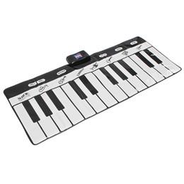 Teclado musical de juguete online-24 Teclado Piano Music Keyboard Mat Playmat Dance Musical Toys