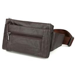 Brauner handybeutel online-FONMOR Hüfttaschen Gürteltasche Gürteltasche Handytasche Taschen Reise Hüfttasche Männlichen Kleine Tasche Ledertasche (Braun)