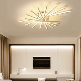 Stylish Living Rooms Coupons   Surface Mounted Modern Led Ceiling Lights  For Study Room Bedroom Living