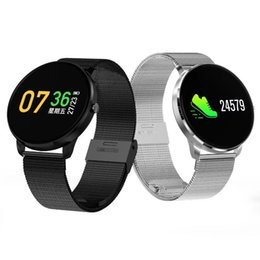 Wholesale Lcd Oled - Smartwatch CF007S Bluetooth LCD Screen Bracelet Bluetooth Android Samsung OLED Heart Rest Monitoring Pedometer Wristband Waterproof