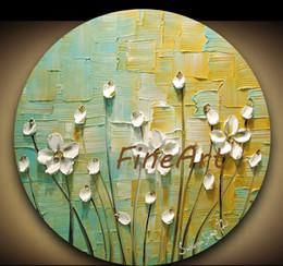 case del mediterraneo dipinti ad olio Sconti Pittura astratta moderna e moderna spatola texture pittura a olio su tela appeso a parete decorazione della casa regalo unico Kungfu Art