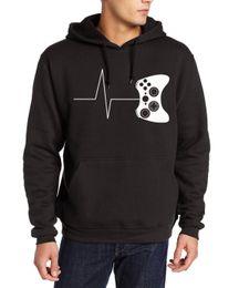 2017 erkekler yeni varış eşofmanları Heartbeat bir oyun hoodies komik oyun kapüşonlu video oyunu mma tişörtü boyutu S-2XL kazaklar cheap size videos nereden boyuttaki videolar tedarikçiler