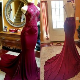 Wholesale Elegant Ivory Prom Dresses - 2017 sexy elegant cheap long evening gowns sleevesless pink with lace appliqués african prom evening dresses mermaid