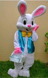 conejito conejo marioneta Rebajas Disfraces de muñecas de dibujos animados de conejito de pascua para el disfraz de muñeca animal La gente linda del conejo camina a través de la mascota de disfraces de marionetas
