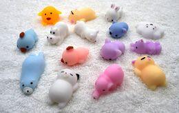 Wholesale Kawaii Mini - Squishy Slow Rising Jumbo Toy Bun Toys Animals Cute Kawaii Squeeze Cartoon Toy Mini Squishies Cat Squishiy Fashion Rare Animal Gifts Charms
