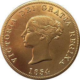 Wholesale Wholesaler Canada - Canada 1854 1 Penny coins COPY FREE SHIPPING 34.2MM
