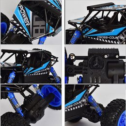 Discount channel 18 - RC Car 2.4G 4CH 4WD Rechargeable 2 Motor Drive Remote Control 1:18 Car Model Off-Road Racing Vehicle Toy Shipping From Russia