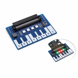 Deutschland 3.3V Mini-Piano-Modul für BCC Micro: Bit Microbit Touch-Tasten zum Abspielen von Musik, Kapazitive Touch-Controller TTP229, mit 4x RGB-LEDs supplier micro module Versorgung