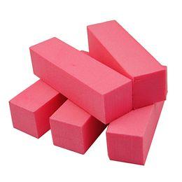 5 шт. / лот буферные файлы для ногтей шлифовка полировка блок файлы Blockw Nail Art советы полировщик маникюр педикюр Арт-салон инструменты комплект от