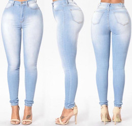 66db02b21d7 Hole Wholesale- Ladies Push Up Jeans Women Skinny Sexy Stretch Low Rise  Jeans Femme Stretch Slim Jean Denim Pants Plus Size