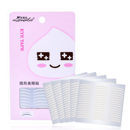 Canada LAMEILA 120Paire / SET Maquillage Clear White Eyelid Stripe Big Eyes Invisible Double Fold Eyelid Shadow Autocollant Double Bande cheap eyelid makeup stickers Offre