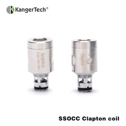kangertech original mini kit Coupons - 50pcs lot Original Kangertech SSOCC Clapton Coil 0.5ohm organic cotton coil for kangertech Toptank Mini Subvod Kit